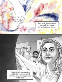 Page 3 of my online short story. Meant to apply years of research in comic creation. Photoshop