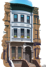 Commission to paint an Apartment for the client's friend. Photoshop